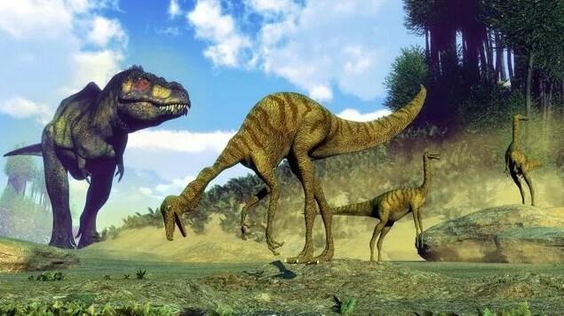 El suelo no se sacude cuando T-rex caza
