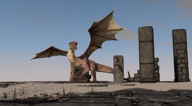 Dragón-o-dinosaurio