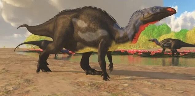 Camptosaurus-dinosaurio-comedor de plantas