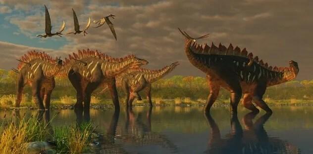Dinosaurios acorazados comedores de plantas