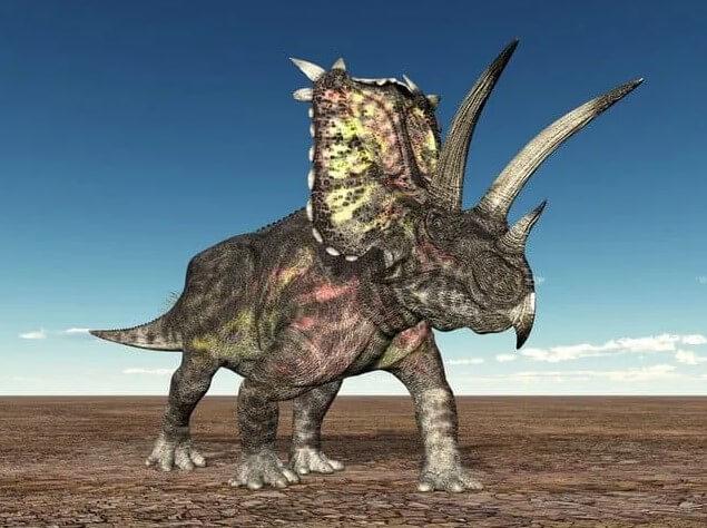 Pentaceratops-era uno de los dinosaurios más aterradores