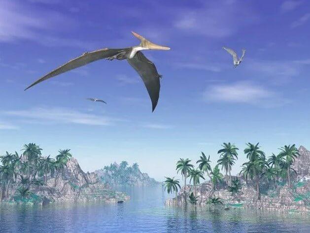 Los pterosaurios-eran un tipo de dinosaurio volador