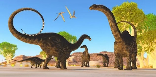 Apatosaurus-es un dinosaurio de cuello largo muy conocido