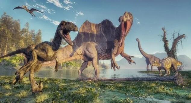 habitat de los dinosaurios