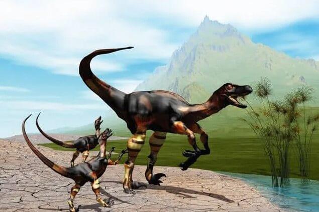 dinosaurios-cerca de agua