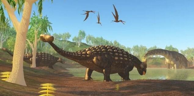 El Ankylosaurus tenía una cola apaleada