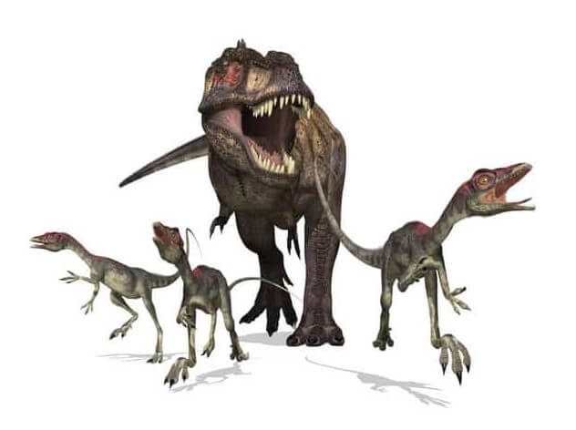 t-rex cazador